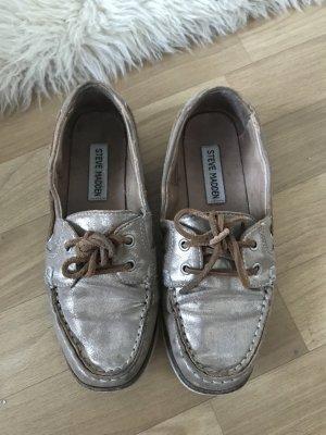 Goldene Schuhe Steve Madden #fashion