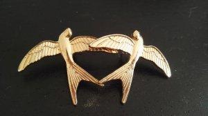 Goldene Schwalben Ohrringe von Asos