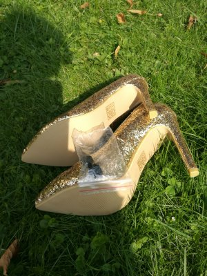 Goldene sexy Pumps Gr.36