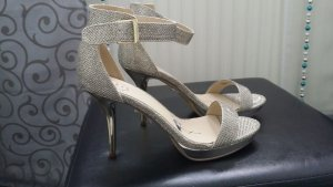 goldene SMH High Heels