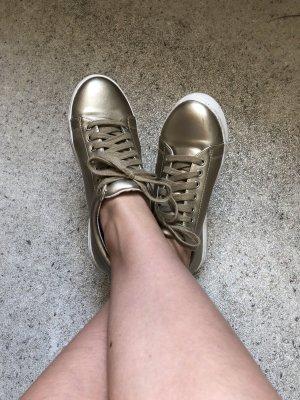Goldene sneaker Asos Größe 39