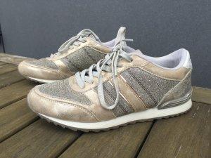 Goldene Sneaker Größe 39