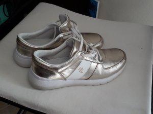 Goldene Sneaker  Ralph Lauren