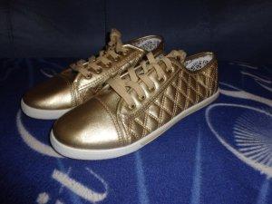 goldene Sneakers Gr. 40 NEU mit Karton von Schuhtempel24