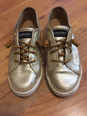 Goldene Sneakers von Sperry Top-sider Gr.8