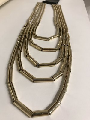 Forever 21 Statement Necklace gold-colored
