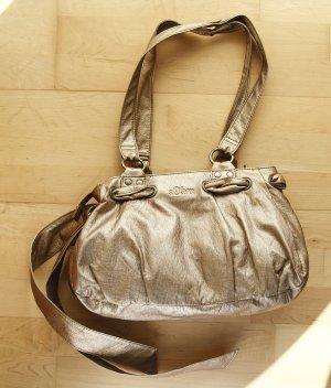 Goldene Tasche von s.Oliver aus Kunstleder
