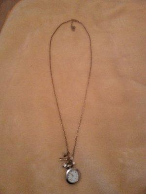 Necklace gold orange