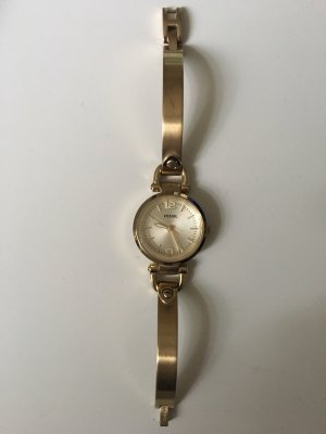 Goldene Uhr Fossil