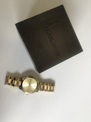Goldene Uhr Michael Kors