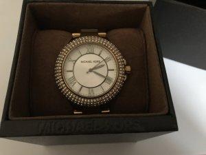 Goldene Uhr von Michael Kors