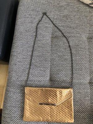 goldene Umhängetasche Zara