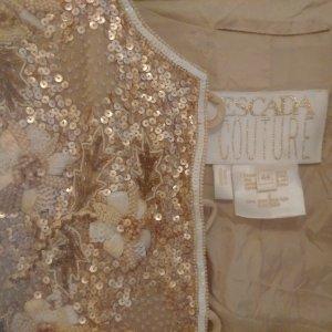Goldene Vintage Jacke von Escada Couture