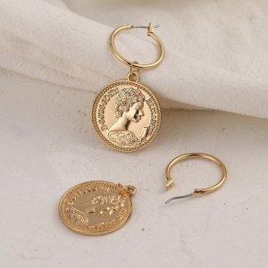 0039 Italy Gouden oorbellen goud