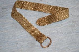goldener Flechtgürtel
