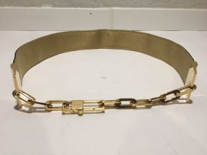 Gucci Waist Belt black-gold-colored leather