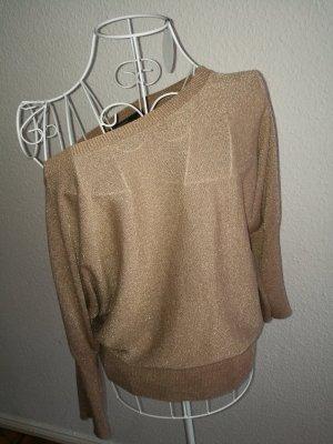 Goldener Oversize offshoulder Pullover 36 38