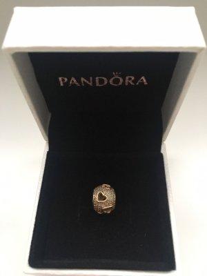 Goldener Pandora Charm