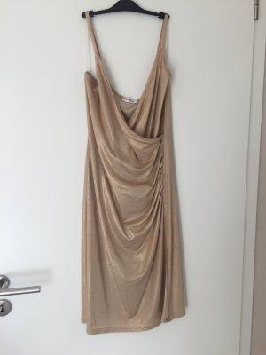 Goldener Party Kleid