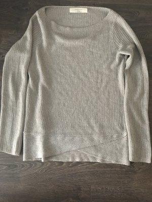 Goldener Pullover Zara // Größe M