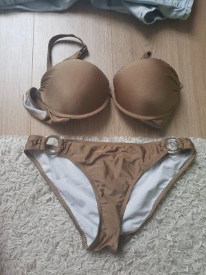 goldener ultra push up Bikini