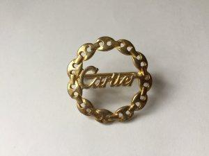 Goldener Vintage Cartier Tuchhalter