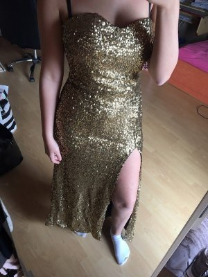 Ball Dress gold-colored