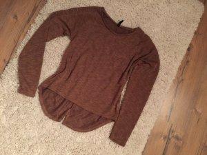 Goldenes braunes Sweatshirt