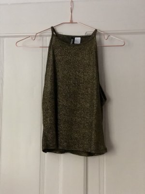 Goldenes Cropped- Top