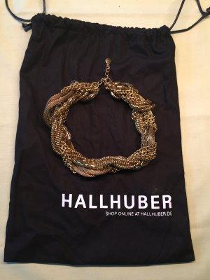 Goldenes Hallhuber Ketten-Collier Statement-Kette