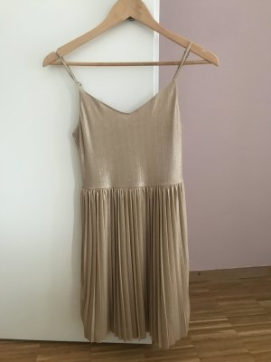 Goldenes Hollister Kleid XS