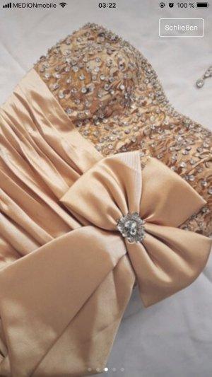 Off-The-Shoulder Dress gold-colored