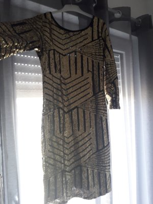 goldenes Kleid
