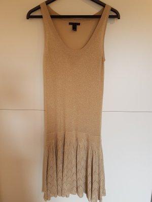 Goldenes Kleid von Mango Gr. M