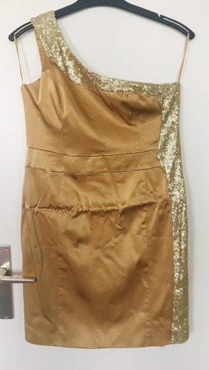 Goldenes Kurzes Kleid Neu