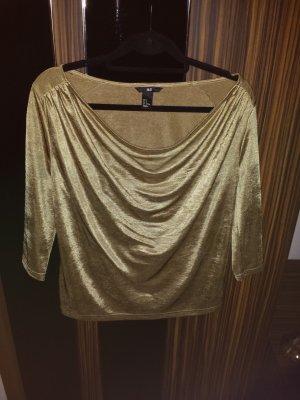 Goldenes Oberteil von H&M