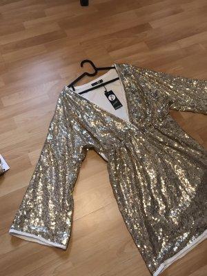 Goldenes Pailletten Kleid