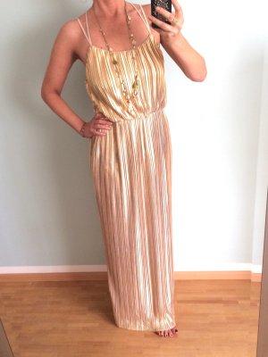 Goldenes Plissee-Kleid von deby debo