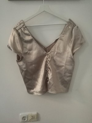 Goldenes Zara Top festlich