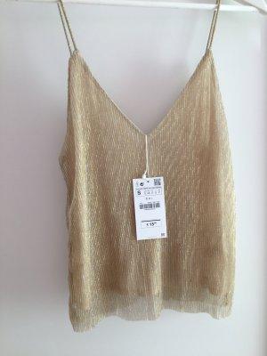 Goldenes Zara Top *neu*