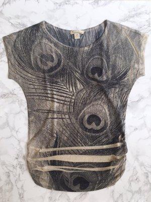 Goldfäden durchzogenes Shirt in S