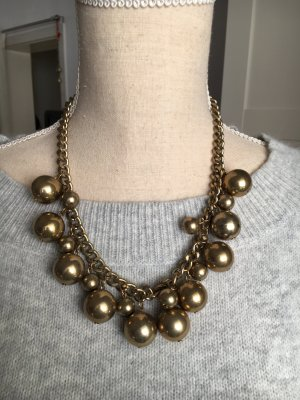 Collar color bronce-marrón arena
