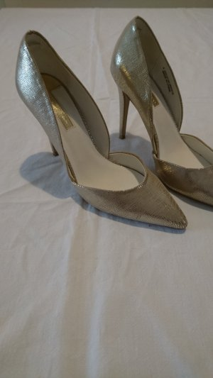 goldfarbene High Heels