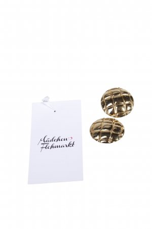 Gold-colored Clip Earrings