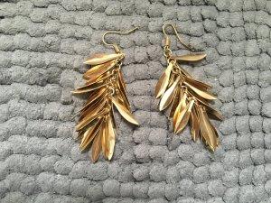 goldfarbene Ohrhänger
