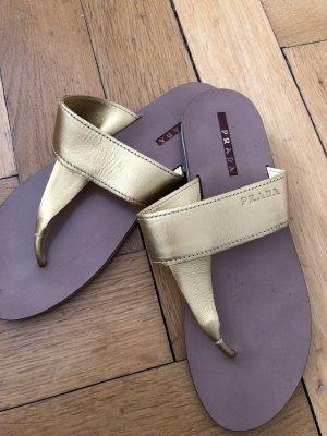 Prada Sandalo toe-post multicolore