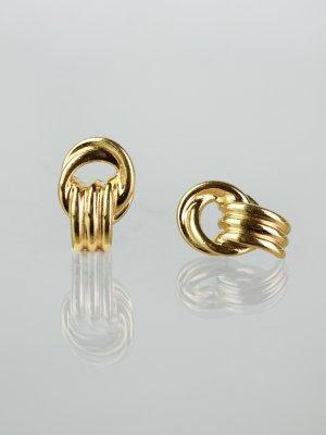 Orecchino a clip oro Metallo