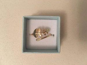 Goldfarbener Ring NEU Einheitsgröße