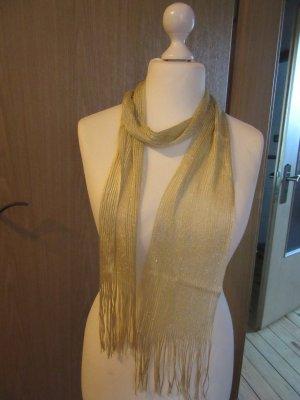 goldfarbener Schal wie abgebildet