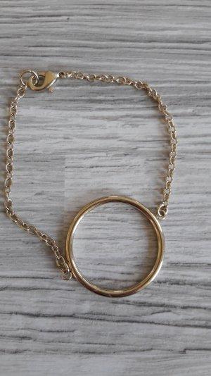goldfarbenes Armband von H&m